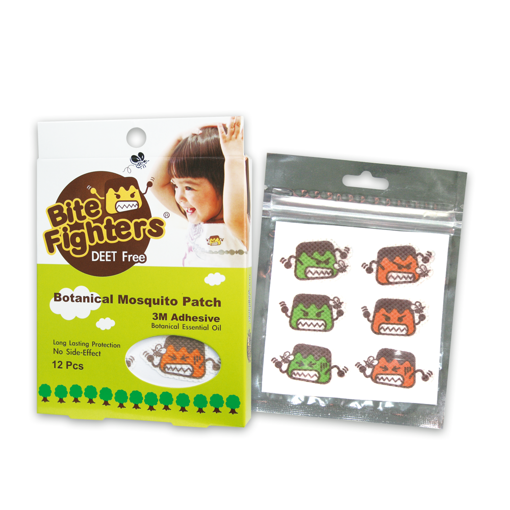 Bite Fighter Organic Mosquito Patch 12pcs (1 pack)