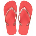 Hotmarzz Women Slim Flip Flop Summer Slippers (Red)