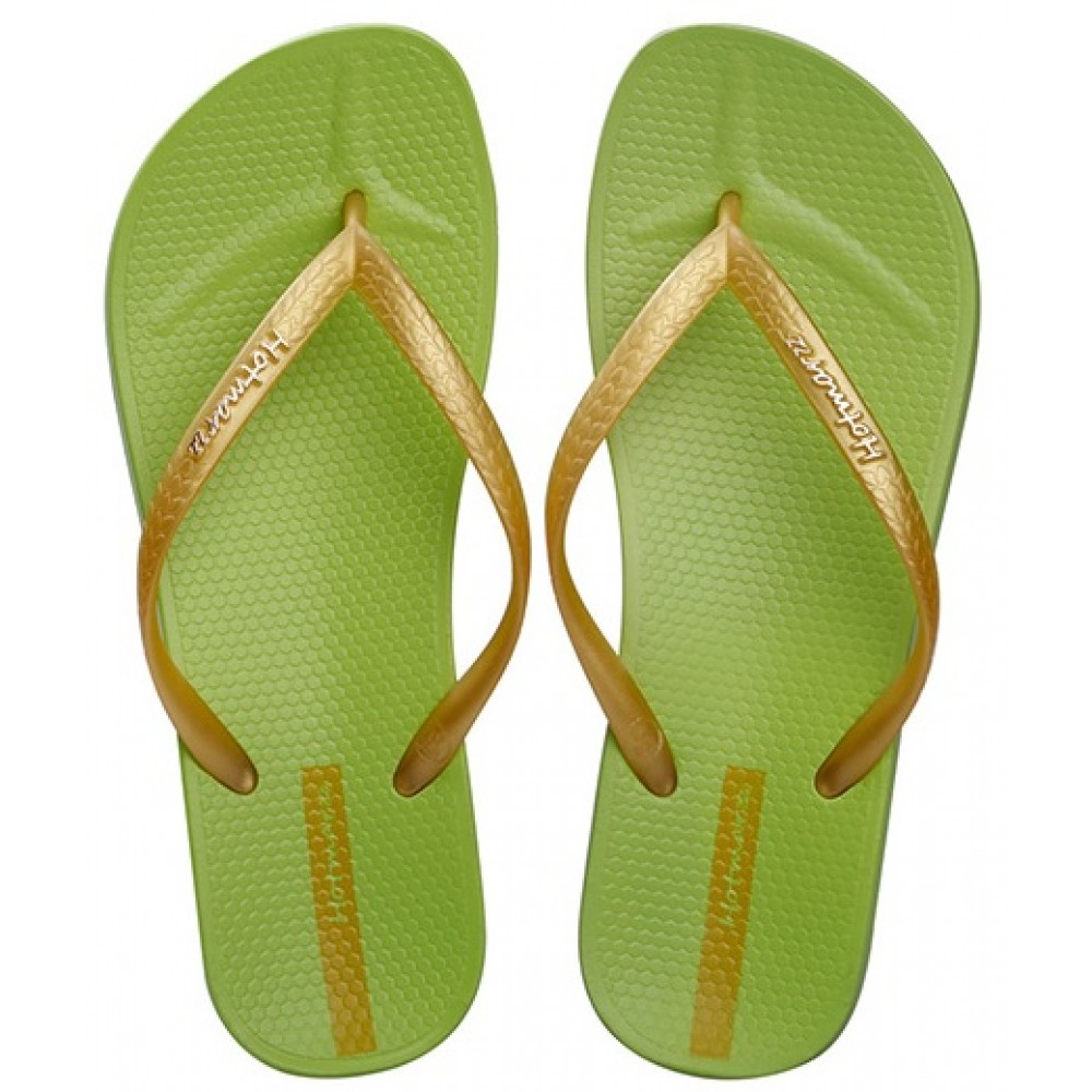 Hotmarzz Women Slim Flip Flop Summer Slippers (Green)