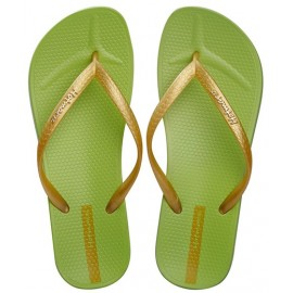 image of Hotmarzz Women Slim Flip Flop Summer Slippers (Green)