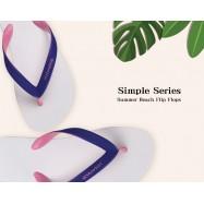 image of Hotmarzz Women Summer Designer Fashion Flip Flops / Sandals / Slippers (White)
