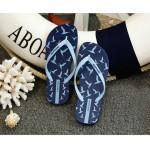Hotmarzz Women Summer Beach Flat Sandals / Slippers / Flip Flops Seagull Series (Sky Blue)
