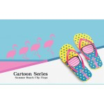 Hotmarzz Women Summer Beach Flat Sandals / Slippers / Flip Flops Glasses Print