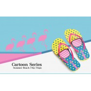 image of Hotmarzz Women Summer Beach Flat Sandals / Slippers / Flip Flops Glasses Print
