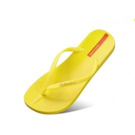 image of Hotmarzz Women Summer Designer Flip Flops / Sandals (Yellow)