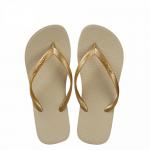 Hotmarzz Women Slim Flip Flop Summer Slippers (Apricot)