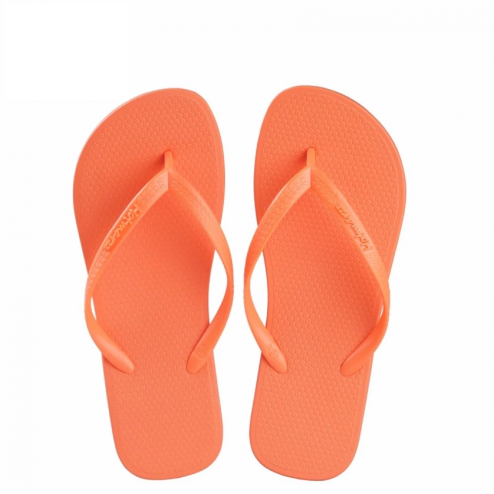 Hotmarzz Women Slim Flip Flop Summer Slippers (Orange)