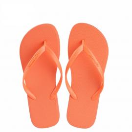 image of Hotmarzz Women Slim Flip Flop Summer Slippers (Orange)
