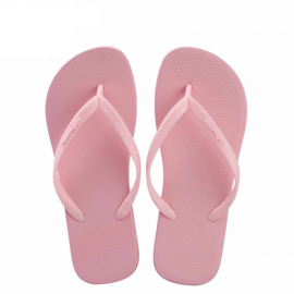 image of Hotmarzz Women Slim Flip Flop Summer Slippers (Pink)
