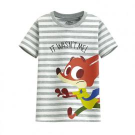 image of Lativ : 迪士尼系列條紋印花T恤-58-童
