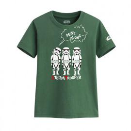 image of Lativ : STAR WARS系列印花T恤-01-童