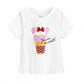 image of Lativ : 迪士尼系列短版印花T恤-28-童