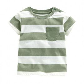 image of Lativ : 條紋口袋上衣-Baby