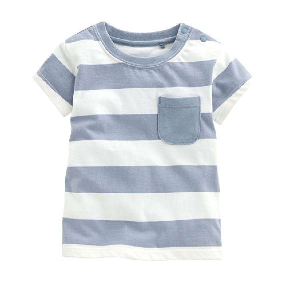 Lativ : 條紋口袋上衣-Baby