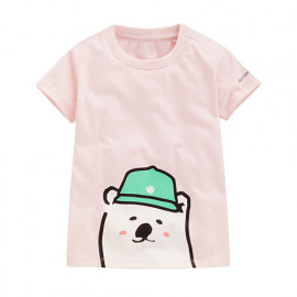 image of Lativ : Polar Bear Benjamin印花T恤-05-Baby