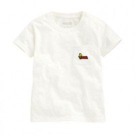 image of Lativ : 史努比口袋印花T恤-04-Baby