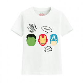 image of Lativ : 漫威系列印花T恤-04-童
