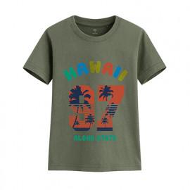 image of Lativ : 衝浪吧印花T恤-童