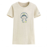 image of Lativ : 櫻桃小丸子印花T恤-05-女