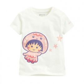 image of Lativ : 櫻桃小丸子印花T恤-11-Baby