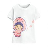 image of Lativ : 櫻桃小丸子印花T恤-11-童