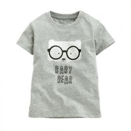 image of Lativ : 眼鏡熊印花T恤-Baby