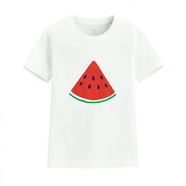 image of Lativ : 夏日西瓜印花T恤-童