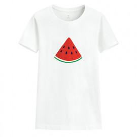 image of Lativ : 夏日西瓜印花T恤-女