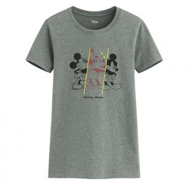 image of Lativ : 迪士尼系列印花T恤-45-女