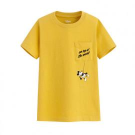 image of Lativ : 迪士尼系列口袋印花T恤-55-童