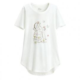 image of Lativ : 迪士尼系列輕柔印花T恤-24-女
