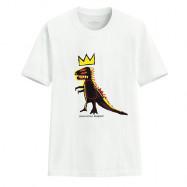 image of Lativ : Jean-Michel Basquiat印花T恤-08-男