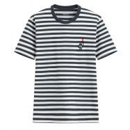 image of Lativ : Keith Haring條紋印花T恤-07-男