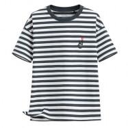 image of Lativ : Keith Haring寬版條紋T恤-07-女