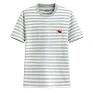 image of  Lativ : Keith Haring條紋印花T恤-08-男