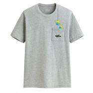 image of Lativ : 皮克斯系列口袋印花T恤-03-男