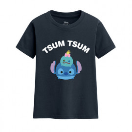 image of Lativ : Tsum Tsum系列印花T恤-01-童