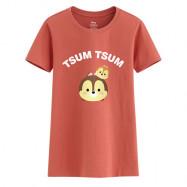 image of Lativ : Tsum Tsum系列印花T恤-03-女