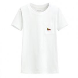 image of Lativ : 史努比口袋印花T恤-04-女