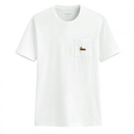 image of Lativ : 史努比口袋印花T恤-04-男