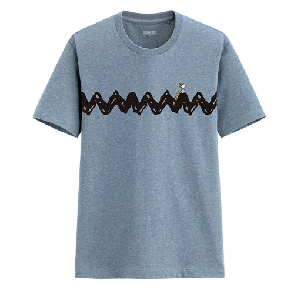 Lativ : 史努比印花T恤-02-男