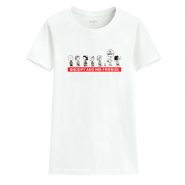 image of Lativ : 史努比印花T恤-15-女