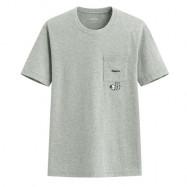 image of Lativ : 史努比口袋印花T恤-08-男