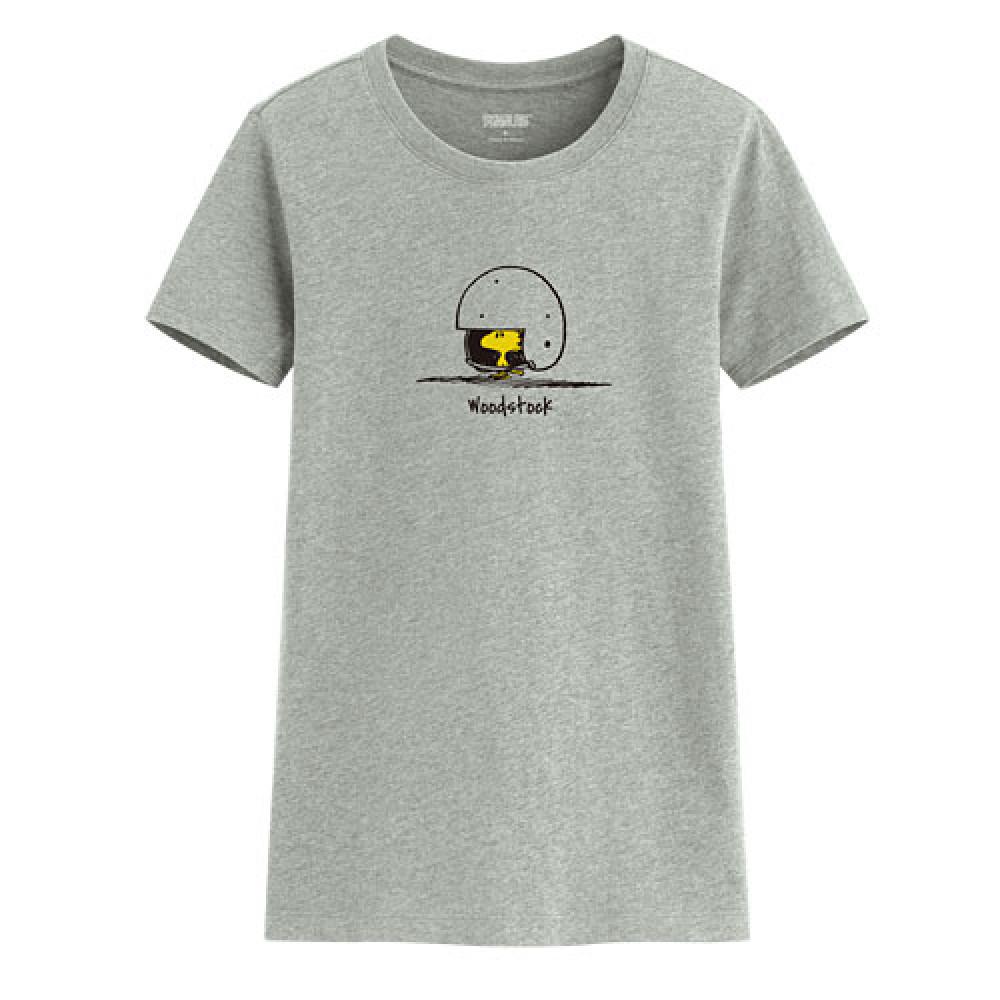 Lativ : 史努比印花T恤-01-女