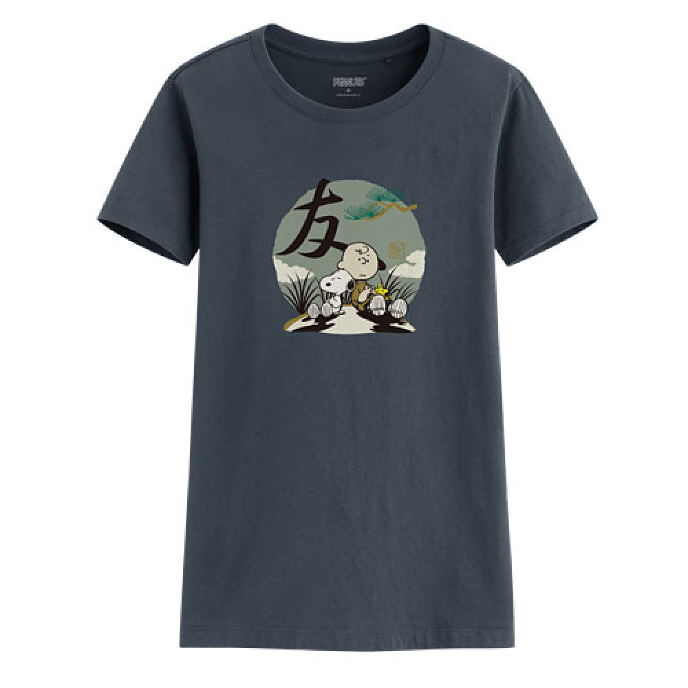 Lativ : 史努比印花T恤-09-女