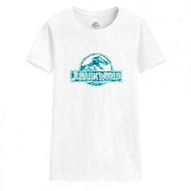 image of Lativ : Jurassic World印花T恤-11-女