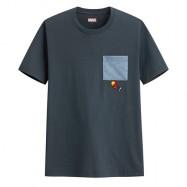 image of Lativ : 漫威系列口袋印花T恤-05-男