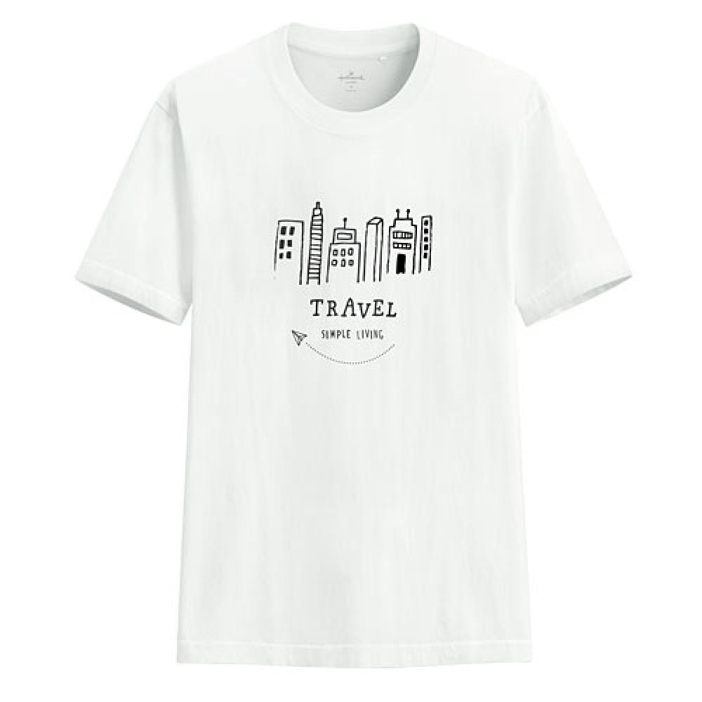 Lativ : Hallmark印花T恤-03-男
