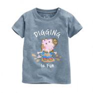 image of Lativ : Peppa Pig印花T恤-01-小童
