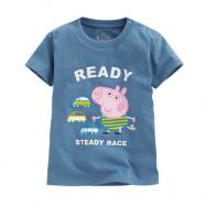 image of Lativ : Peppa Pig印花T恤-04-小童